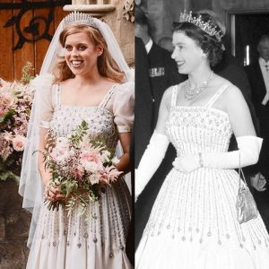 Princess Beatrice pre-owned gown